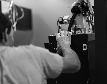 barrette de mémoire vive inspectée aux rayons X